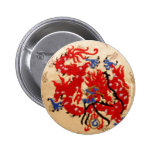 Dragones rojos del oro de NOVINO n Pins