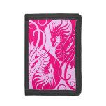 Dragones rosados de Yin que vuelan Yang