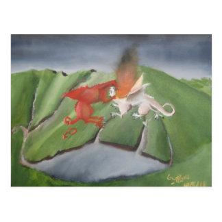 Dragones sobre Snowdonia Postal