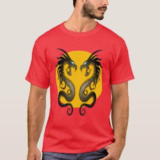 Dragones tribales (amarillo) playera