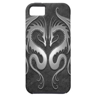 Dragones tribales, oscuros iPhone 5 Case-Mate protectores