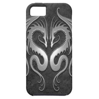 Dragones tribales, oscuros iPhone 5 carcasas
