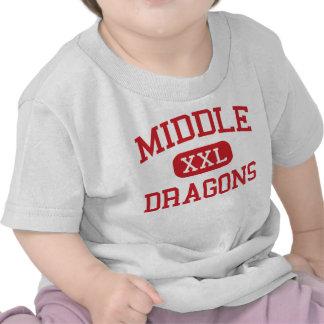- Dragones - universidad media - Stockton Camiseta