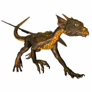 Dragonesque Baby Cutout