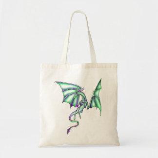 Dragonet verde bolsa de mano
