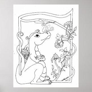 Dragonette Print