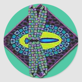 Dragonfies Dragonfly Etiquetas Redondas