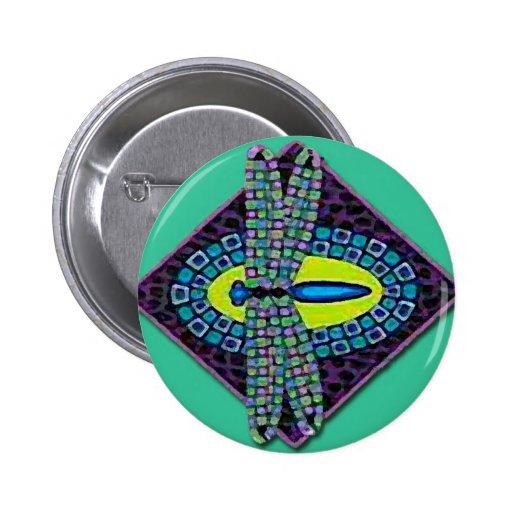 Dragonfies /Dragonfly Pin Redondo 5 Cm