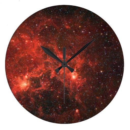 Dragonfish Nebula Wall Analog Clock