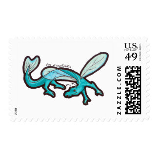 Dragonfishfly Stamp