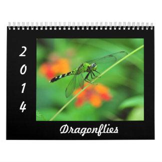 Dragonflies - 2014 wall calendar