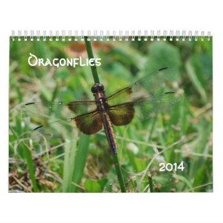 Dragonflies 2014 calendar