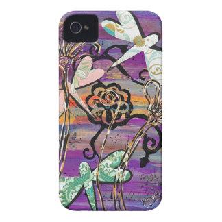 Dragonflies 3 BlackBerry Curve Case iPhone 4 Cases