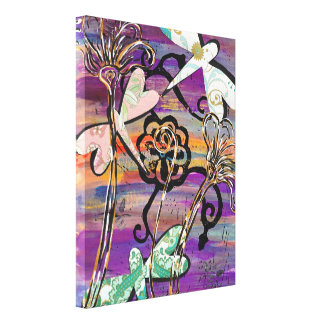 Dragonflies 3 canvas print