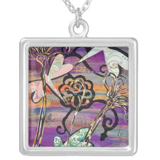 Dragonflies 3 Necklace