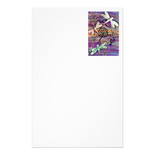 Dragonflies 3 Stationery