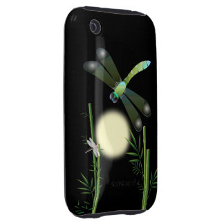 Dragonflies and Bamboo iPhone 3 Tough Cover