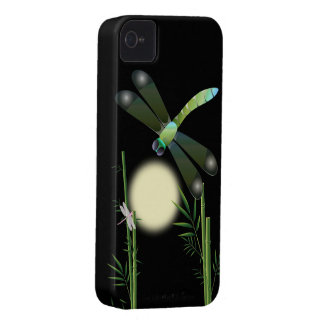 Dragonflies and Bamboo iPhone 4 Case