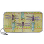 Dragonflies and Bluebells Portable Speaker