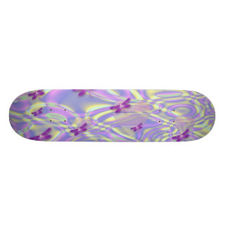 Dragonflies and Hearts Skateboard Deck