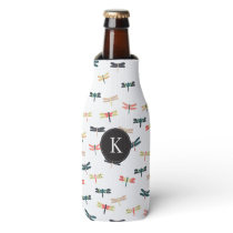 Dragonflies Bottle Cooler