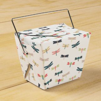 Dragonflies by Origami Prints Favor Boxes