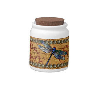Dragonflies Candy Dish