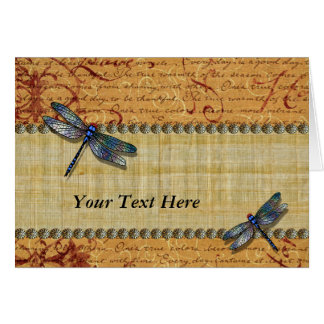 Dragonflies Cards