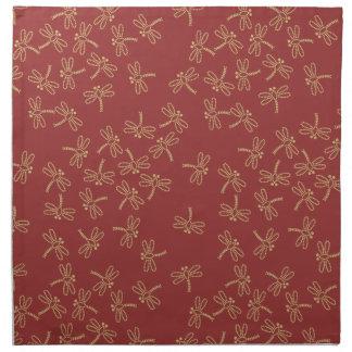 dragonflies cloth napkin