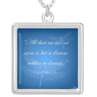 Dragonflies Dream Dragonfly Quote Necklace