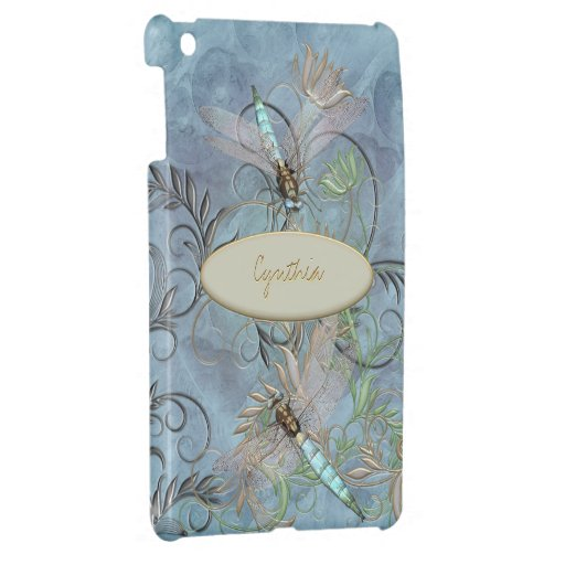Floral Flourish Color Changing base Cover For The iPad Mini