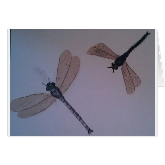 Dragonflies...Fly Away Card