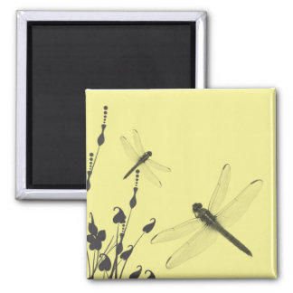Dragonflies in the Grass Refrigerator Magnets