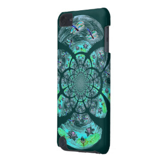 Dragonflies, Lily Flowers pattern iPod Touch 5G Case