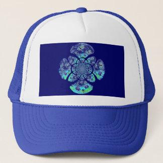 Dragonflies, Lily Pond pattern Trucker Hat