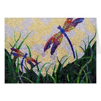 Dragonflies notecard