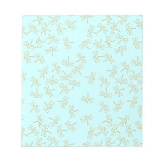 dragonflies notepad