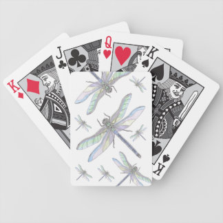 DRAGONFLIES playing cards