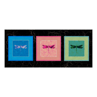 Dragonflies Posters