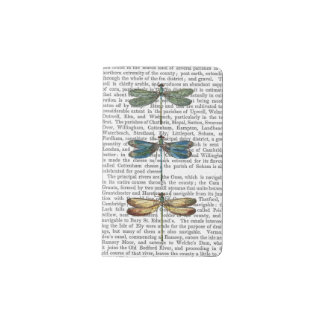 Dragonflies Print 2 Pocket Moleskine Notebook