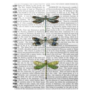Dragonflies Print 3 Notebook