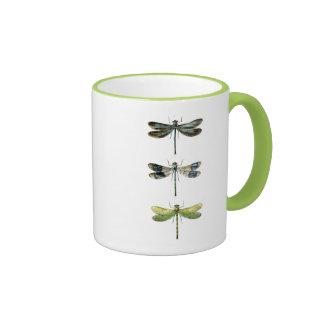 Dragonflies Print 3 Ringer Mug
