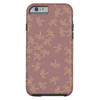 dragonflies tough iPhone 6 case