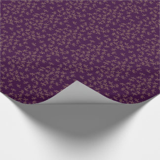 dragonflies wrapping paper