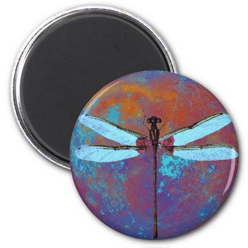 Dragonflight 2 Inch Round Magnet