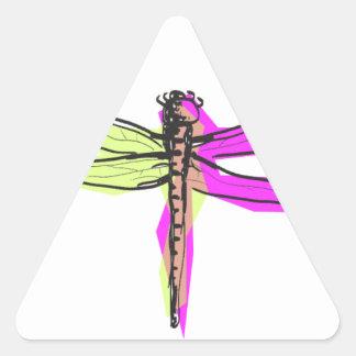 dragonfly1440x900.png pegatina triangular