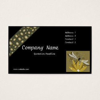 Dragonfly #2 Design Business Card