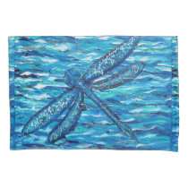 Dragonfly 2 pillow case
