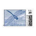 Dragonfly 2 postage stamps