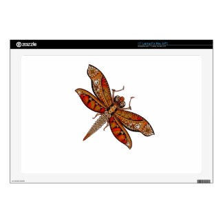 "Dragonfly 4c skins for 17"" laptops"